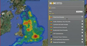 National Heat Map of UK