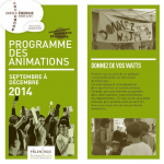 visuel programme second semestre 14