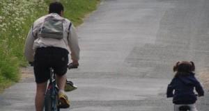 Une photo de vélo à la campagne