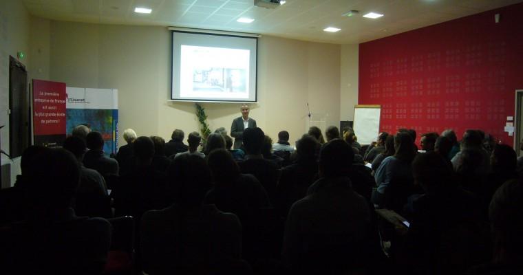 Illustration : 5 à 7 de l'éco-construction : Performance architectural et performance énergétique 2014 en présence de Pierre LEVY