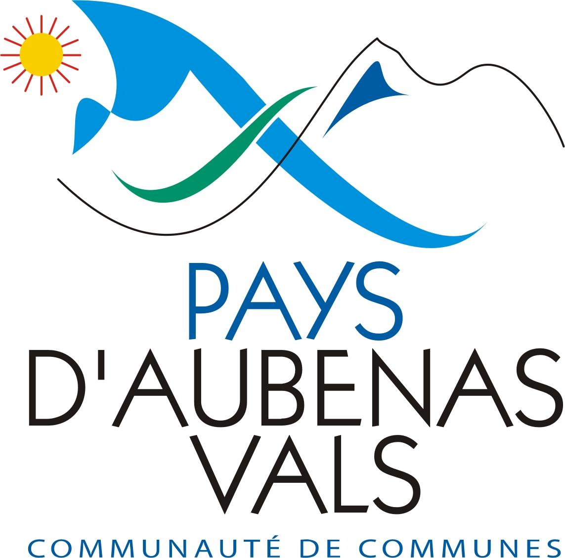 logo communaute de communes pays aubenas vals
