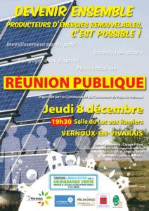 Réunion Pub Affiche